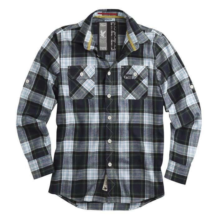Chemise canadienne homme