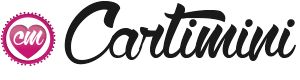 Logo carte postale anniversaire avec cartimini.com