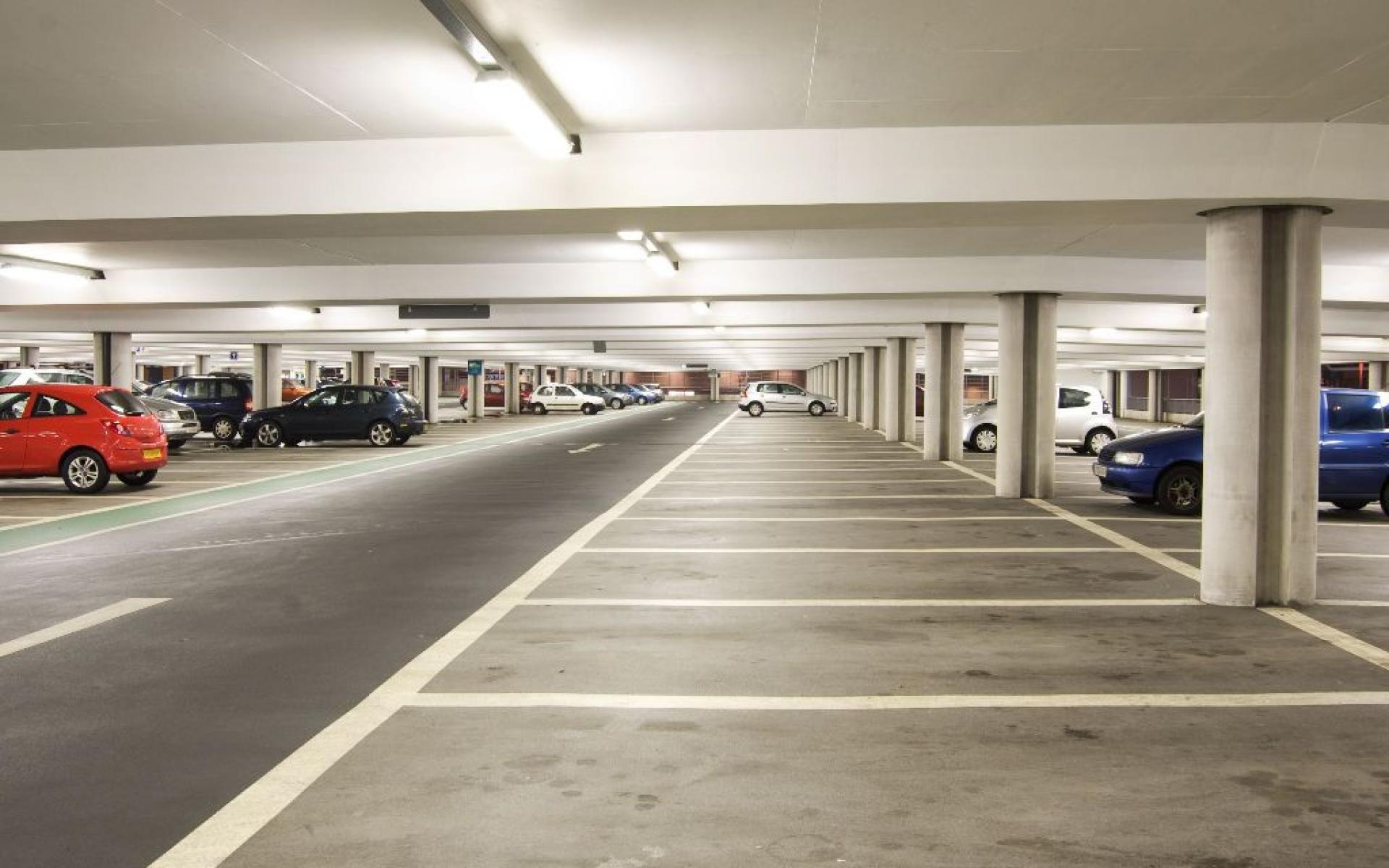 Une place de parking pour aider les autres