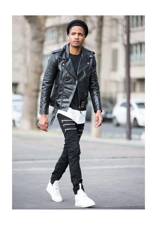 magasiner pour l'original rabais de premier ordre chaussures de séparation Le perfecto en cuir homme c'est le symbole de nombreuses ...